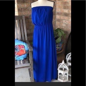 F21 maxi dress 👗